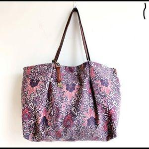 🍀 Lucky Brand Paisley Canvas Handbag